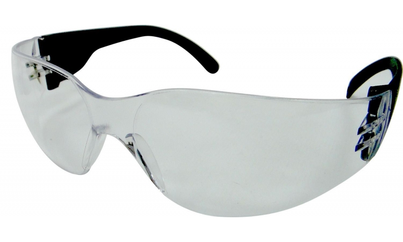 Clear Frameless Safety Glasses