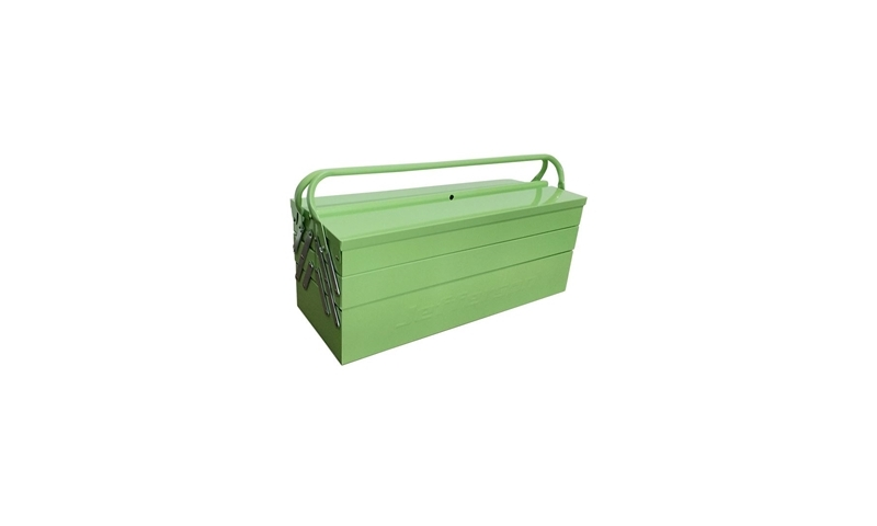 5 Tray Cantilever Tool Box - High Visibility