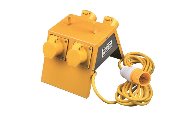 110V 16A 4 Way Splitter Box
