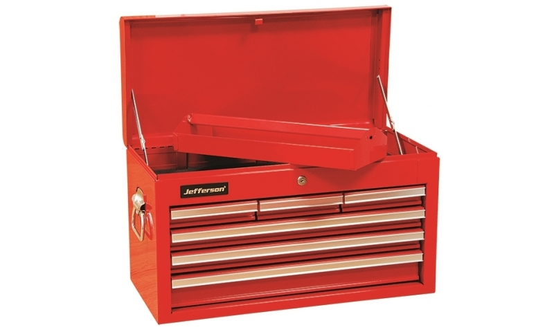 6 Drawer Top Chest Red