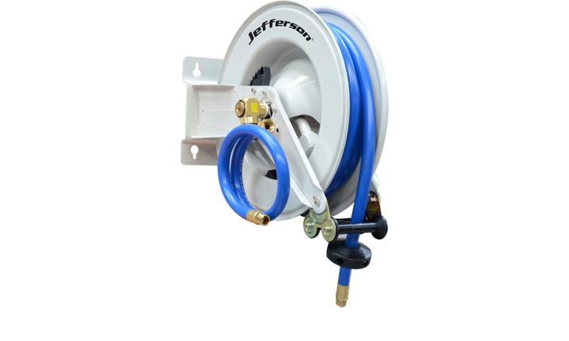 "10m 3/4"" Industrial Auto Retracting Air Hose Reel"