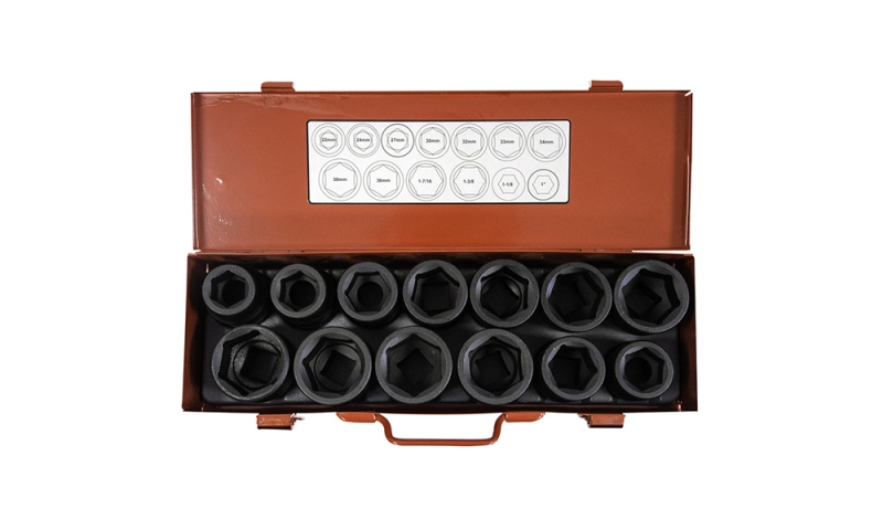 "13 Piece 3/4"" Impact Socket Set"