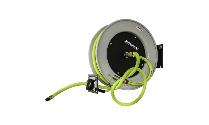 15m Retractable High-Vis Reel Hybrid Hose