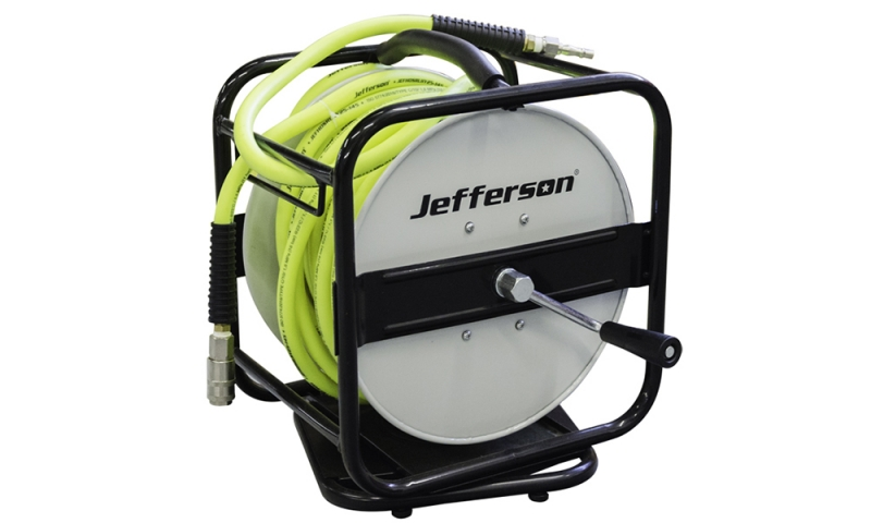 25m 360º High-Vis Air Hose Reel