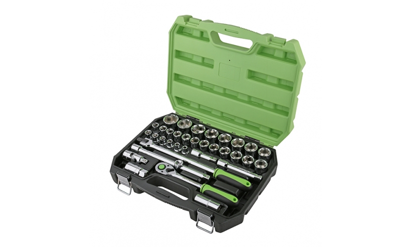 "34 Piece 1/2"" Drive Socket Set"