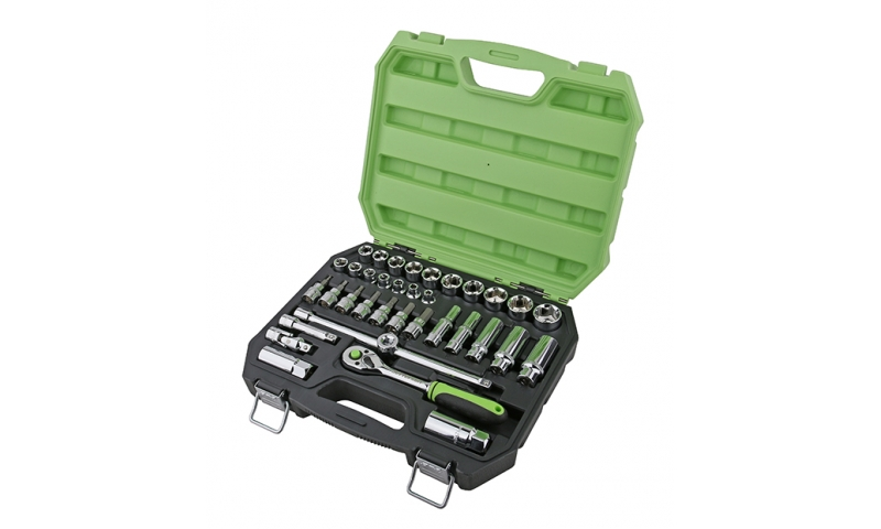 "35 Piece 3/8"" Drive Socket Set"