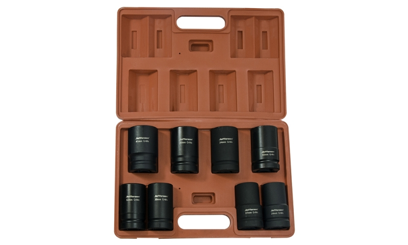 "8 Piece 1"" Deep Impact Socket Set"