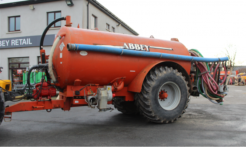 Abbey 2500R Slurry Tank C/W 7.5M Trail&Shoe