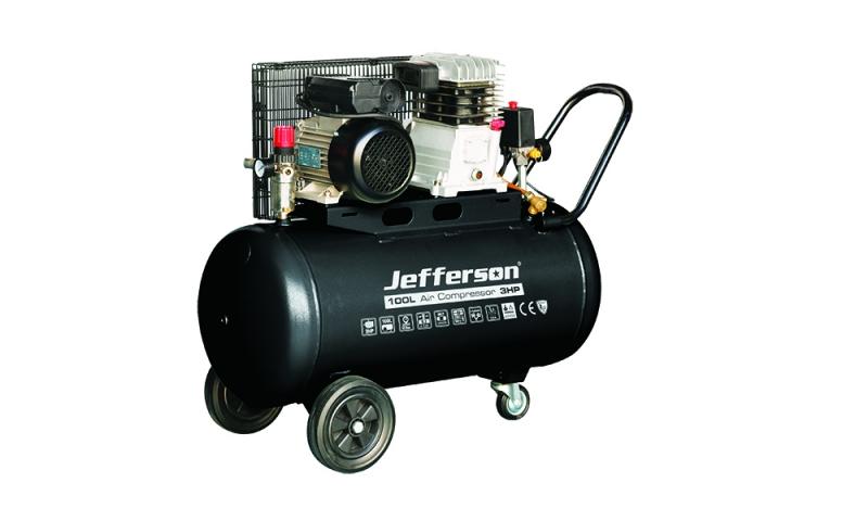 100 Litre 3HP Compressor 230V