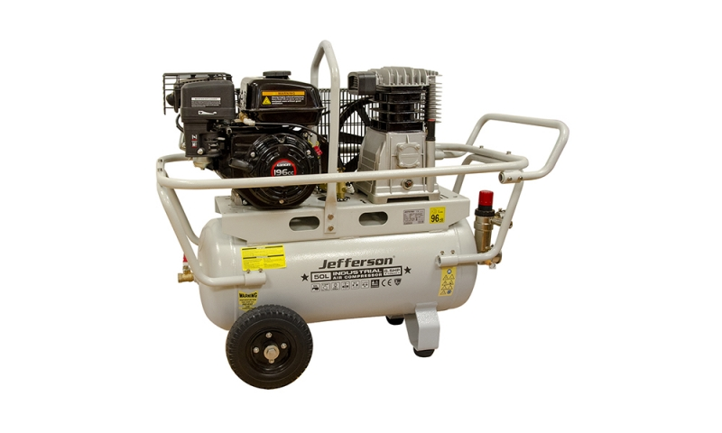 50 Litre 6.5HP Petrol Compressor