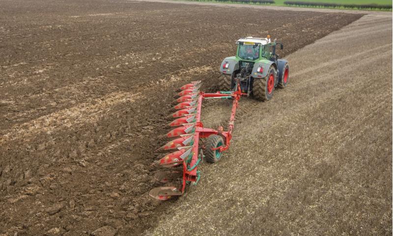 Kverneland PN Semi Mounted Plough