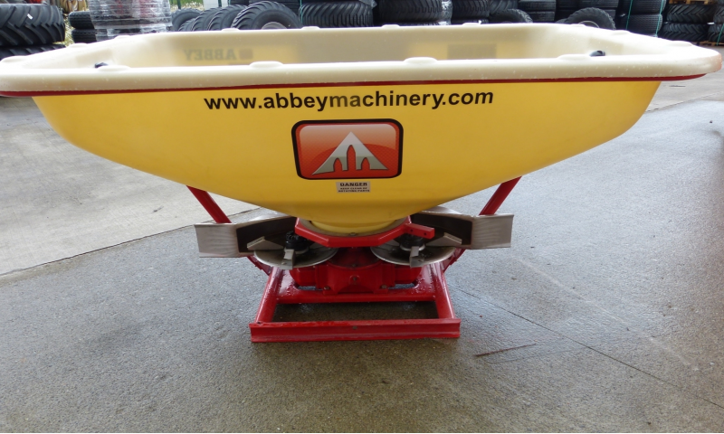 Abbey Twin Disc Fertilizer Spreader