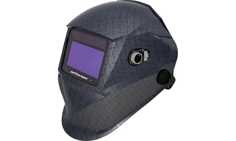 Tread Plate Style Automatic Welding Helmet