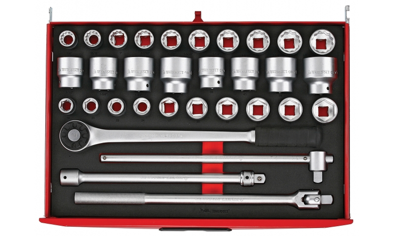 "3/4"" 32 PIECE DRIVE SOCKET SET"