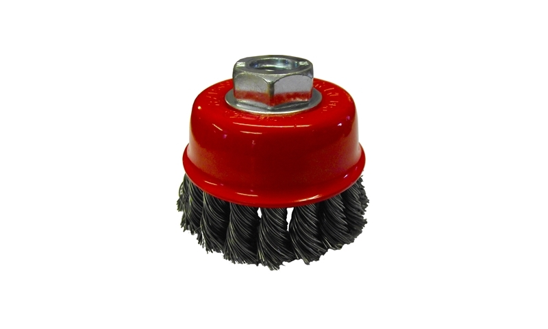 Twist Knot Cup Brush M14 65mm